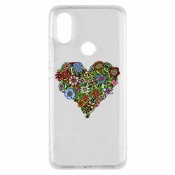 Чохол для Xiaomi Mi A2 Flower heart
