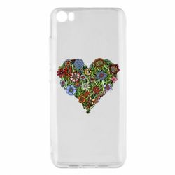 Чехол для Xiaomi Xiaomi Mi5/Mi5 Pro Flower heart - FatLine