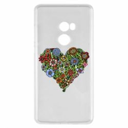 Чехол для Xiaomi Mi Mix 2 Flower heart - FatLine