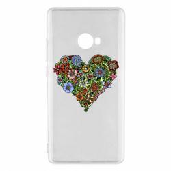 Чехол для Xiaomi Mi Note 2 Flower heart - FatLine