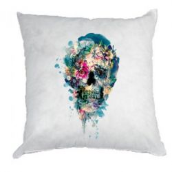 Подушка Flower Skull 4 - FatLine