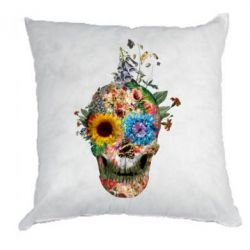 Подушка Flower Skull 5 - FatLine