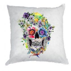 Подушка Flower Skull - FatLine