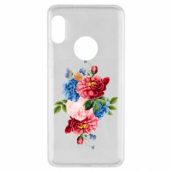 Чохол для Xiaomi Redmi Note 5 Flowers and butterfly