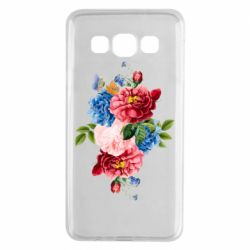 Чохол для Samsung A3 2015 Flowers and butterfly