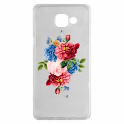 Чохол для Samsung A5 2016 Flowers and butterfly