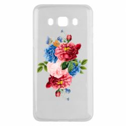 Чохол для Samsung J5 2016 Flowers and butterfly