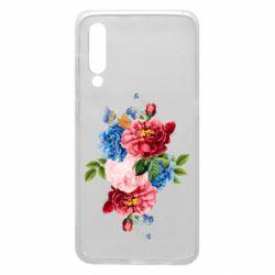 Чохол для Xiaomi Mi9 Flowers and butterfly