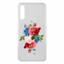 Чохол для Samsung A7 2018 Flowers and butterfly
