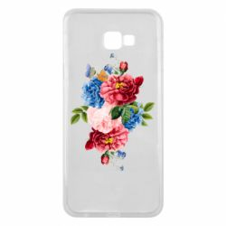 Чохол для Samsung J4 Plus 2018 Flowers and butterfly