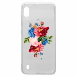 Чохол для Samsung A10 Flowers and butterfly