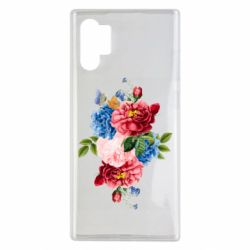 Чохол для Samsung Note 10 Plus Flowers and butterfly