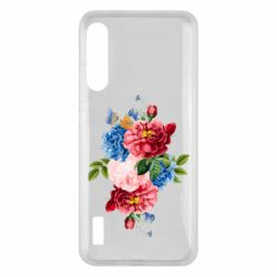 Чохол для Xiaomi Mi A3 Flowers and butterfly
