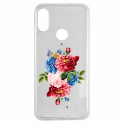 Чохол для Xiaomi Redmi Note 7 Flowers and butterfly