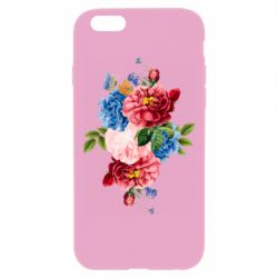 Чохол для iPhone 6 Plus/6S Plus Flowers and butterfly