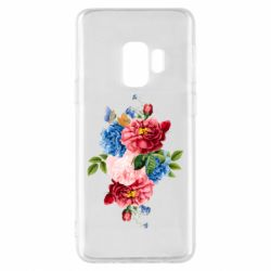 Чохол для Samsung S9 Flowers and butterfly