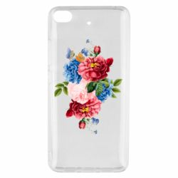 Чохол для Xiaomi Mi 5s Flowers and butterfly