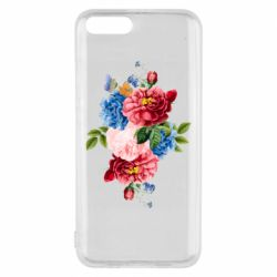Чохол для Xiaomi Mi6 Flowers and butterfly