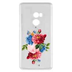 Чохол для Xiaomi Mi Mix 2 Flowers and butterfly
