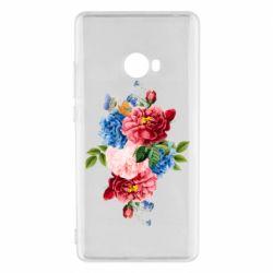 Чохол для Xiaomi Mi Note 2 Flowers and butterfly