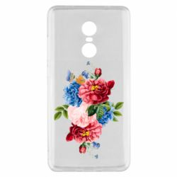 Чохол для Xiaomi Redmi Note 4x Flowers and butterfly