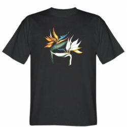 Мужская футболка Flowers art painting