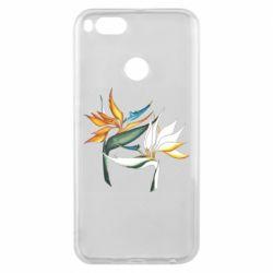Чехол для Xiaomi Mi A1 Flowers art painting