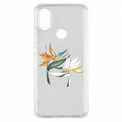 Чехол для Xiaomi Mi A2 Flowers art painting