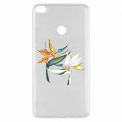 Чехол для Xiaomi Mi Max 2 Flowers art painting
