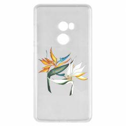 Чехол для Xiaomi Mi Mix 2 Flowers art painting