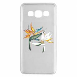 Чехол для Samsung A3 2015 Flowers art painting