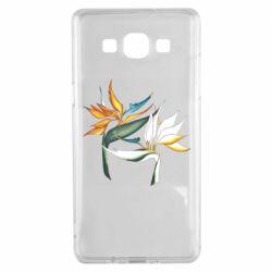 Чехол для Samsung A5 2015 Flowers art painting