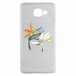 Чехол для Samsung A5 2016 Flowers art painting