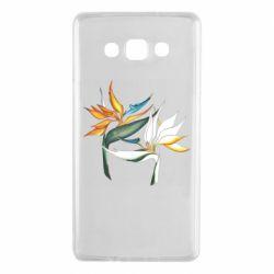 Чехол для Samsung A7 2015 Flowers art painting