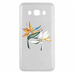 Чехол для Samsung J5 2016 Flowers art painting
