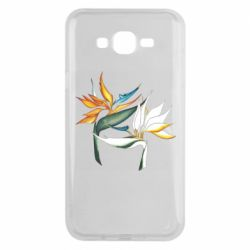 Чехол для Samsung J7 2015 Flowers art painting