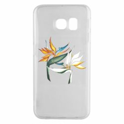 Чехол для Samsung S6 EDGE Flowers art painting