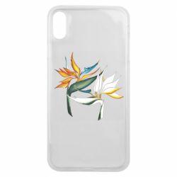 Чохол для iPhone Xs Max Flowers art painting
