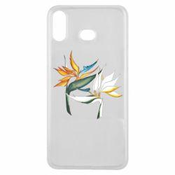 Чехол для Samsung A6s Flowers art painting