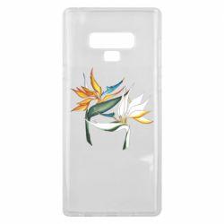 Чехол для Samsung Note 9 Flowers art painting
