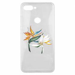 Чехол для Xiaomi Mi8 Lite Flowers art painting