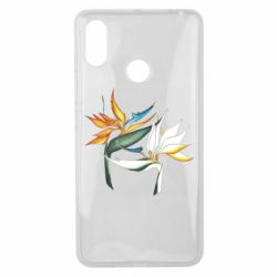 Чехол для Xiaomi Mi Max 3 Flowers art painting
