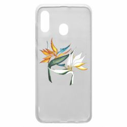 Чехол для Samsung A30 Flowers art painting