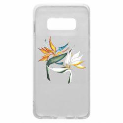 Чехол для Samsung S10e Flowers art painting