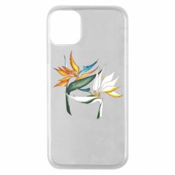 Чехол для iPhone 11 Pro Flowers art painting