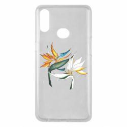 Чехол для Samsung A10s Flowers art painting