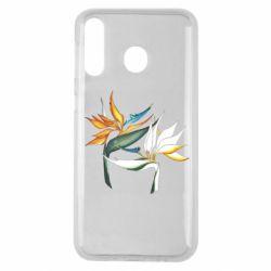 Чехол для Samsung M30 Flowers art painting