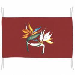 Флаг Flowers art painting