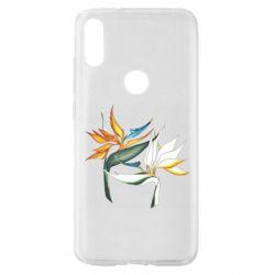 Чехол для Xiaomi Mi Play Flowers art painting