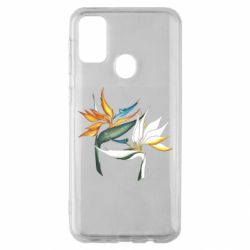 Чехол для Samsung M30s Flowers art painting